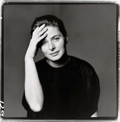 Richard Avedon: Ingrid Bergman, New York,1961.