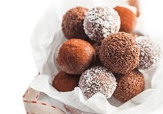 Food and Wine Matching - Classic Rum Balls