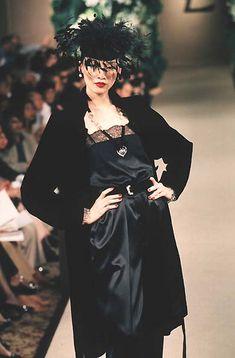 Yves Saint Laurent Haute Couture F/W 1998