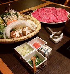Sukiyaki, Nabe season is comming soon 🍲  すき焼き😊  #wagyu #bonappetit #meaty#sukiyaki#japon#japanesefood#foodstagram#tagsforlike#deliciousfood#likeforlikes#japantravel#restaurants#l4l#viande#instafood#japanlover#cuisinejaponaise#tokyo#和牛#肉#肉食#グルメ#おいしい#すき焼き#鍋#ディナー#ランチ#料理#食べ物#レストラン