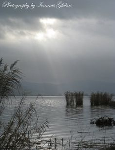 Ioannina Lake Christmas In Greece, National Road, Thessaloniki, Winter Scenes, Sunset, City, Nature, Travel, Outdoor