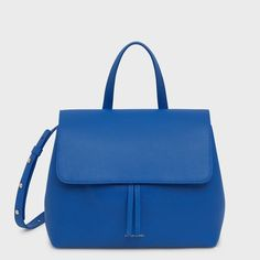 Soft and textured calf leather is sculpted into our new Soft Lady Bag, a reimagined counterpart to our iconic Lady Bag. The interior features a luxurious suede lining and interior compartments for added functionality. The adjustable and removable shoulder strap allows this relaxed bag to be carried crossbody or by hand. Leather Satchel, Calf Leather, Soft Leather, Leather Conditioner, Bago, Blue Bags, Bag Sale, Sale Items, Bucket Bag