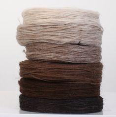 Icelandic unspun wool, Lopi