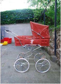 . Pram Stroller, Baby Strollers, Plum Purple, Burgundy, Vintage Pram, Prams, Baby Gear, My Favorite Color, Kids And Parenting