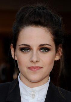Kristen Stewart  Feminine Braided Updo Hairstyle