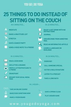 25 things to do instead of sitting on the couch Things To Do When Bored, Things To Do At Home, Fun Things, Bored Jar, Bored Kids, Vie Motivation, Morning Motivation, Self Care Activities, Babysitting Activities
