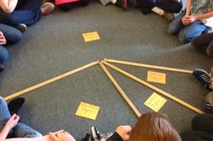 Here is a GREAT lesson on making a circle graph inspired by a great piece of math literature. Very motivating for students!