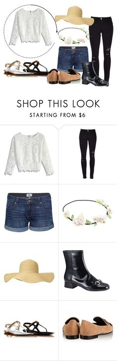 """Sin título #691"" by brenda-199 ❤ liked on Polyvore featuring Chicwish, Frame Denim, Paige Denim and Gucci"