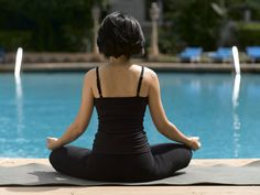 Close your eyes and meditate. Let the asanas of yoga cleanse your body and soul in this pristine environment at The Taj Mahal Palace, Mumbai. Cleanse Your Body, Body And Soul, Mumbai, Palace, Taj Mahal, Environment, Hollywood, Yoga, Eyes
