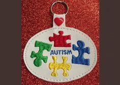 Autism Key Fob
