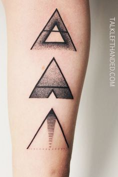 maybe I'll do something like this to fix the janky triangle on my ankle...lol