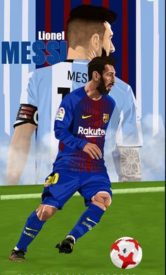 Football Art, World Football, Football Players, Football Player Drawing, Soccer Drawing, Barcelona Futbol Club, Messi Argentina, Lionel Messi Wallpapers, Messi Photos