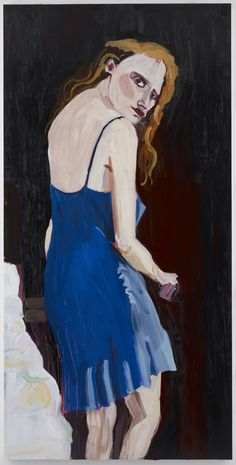 Chantal Joffe's Jessica (2012)