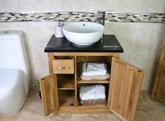 Merveilleux Bathroom Vanity Unit   Black Quartz   Ceramic Bowl Basin   Bathrooms And  More Store