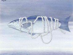 Homage to Alphonse Allais via Rene Magritte