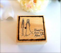 Wooden ring bearer wedding decor wedding rings 26 00 via etsy