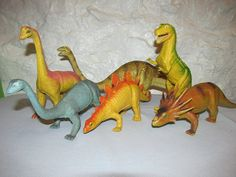 Collection of 1985 Imperial Hong Kong Toy Dinosaurs T by TFSloan, $24.00