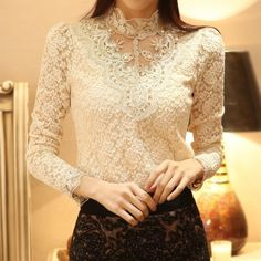 Camisa Rendas Lady - Comprar em Raylim Modas