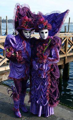 Taken at the Carnival in Venice, Italy in January 2008.