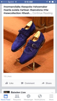 Blue suede shoe? Yes..