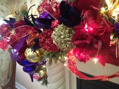 N 4 Events - Fireplace Christmas Decoration, Fireplace Christmas Decorating Ideas, How to Decorate Your Mantel for Christmas, Christmas Fireplace Decoration Design Ideas, Holiday Mantels http://youtu.be/17tOdHB9Aw8