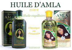 L'huile d'amla pour cheveux est en fait une poudre mélangée à des huiles végétales ... et minérales ! Malheureusement, elle contient de la paraffine