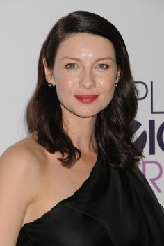 Caitriona Balfe at the People's Choice Awards for Outlander on Starz