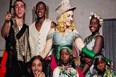 Madonna sends her first family portrait to her six children  Singer Madonna first shared her family photo on her 59th birthday.