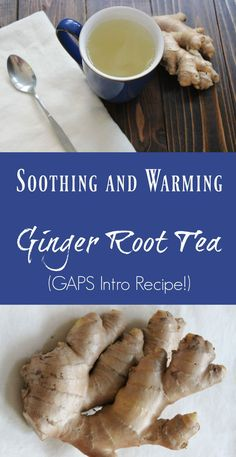 Ginger tea is a warming winter drink, which is recommended on the GAPS Diet and prefect for soothing winter sore throats. Ginger Tea Ingredients: Fresh ginger root Filtered water (Buy Berkey Water Filters here) Honey to taste Directions: On a cutting boar Ginger Tea For Cold, Ginger Root Tea, Ginger Drink, Ginger Water, Uses For Ginger Root, Recipes With Ginger Root, How To Cut Ginger, How To Store Ginger, What Is Ginger