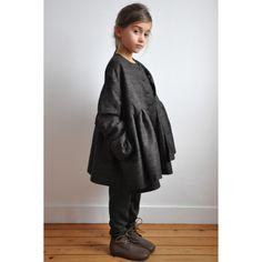 """Dans le calendrier de l'Avent le 10 décembre 2013: le manteau """"enfant"""" en drap brun à -40%"""