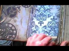Vintage Junk Journal, Spiral Bound with Chipboard Covers - YouTube