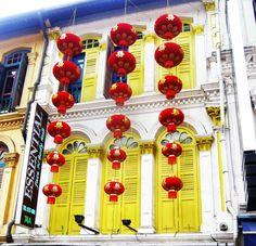 China Town . Singapore