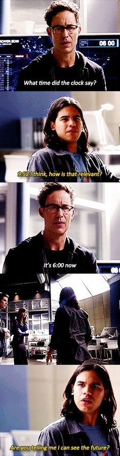 """Harry and I were trying to hone my powers to find Zoom and then we ended up using them to find Reverse Flash and that's when I saw him kill her.""  › HARRISON WELLS› CISCO RAMON› THE FLASH›  2X11"