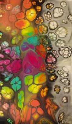 Fluid Acrylic - Spontaniety