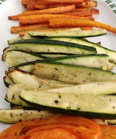 Zeleninové hranolčeky - ideálna ľahká večera