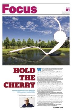 Focus cover for October 2013 Southwest Journal. Design by Dana Croatt  #EditorialDesign #NewspaperDesign #GraphicDesign