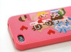 Meg - Neostitch Cross Stitch iPhone Case — ACCESSORIES -- Better Living Through Design