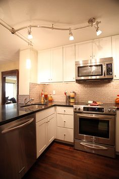modern condo renovation | Condo Renovation - Queen Anne modern kitchen