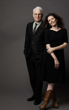 Steve Martin and Edie Brickell..love the song Sarah Jane and the Iron Mountain Baby