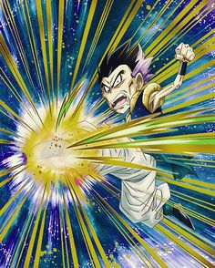 DBZ DOKKAN BATTLE-Beyond Fatigue Gotenks (Falure B) TEQ. Leader skill-TEQ Type ki +3 HP, ATK & DEF +20%. Passive skill-Changes ATK and DEF +5% per ki orb obtained, heal HP from candy. Super attack-Dynamite Kick-Causes huge damage to opponent