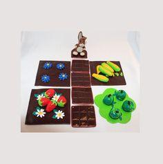 Jeu enfant, Le Potager, lapin, mais, fraise, fleur, pomme : Jeux, jouets par ludifimo