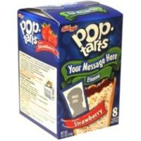 Unique Gift Idea - Personalize The Message On A Gift Of Pop-Tarts!