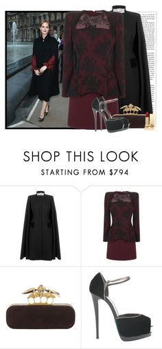 """""""fℯℯℓ. 565"""" by the-running-verb ❤ liked on Polyvore featuring Salvatore Ferragamo, Alexander McQueen, Giuseppe Zanotti and Yves Saint Laurent"""