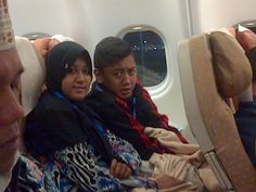 My Brother and My Sister before Take Off