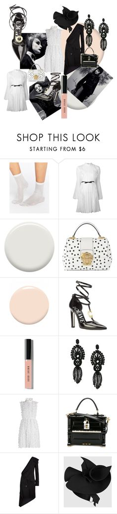 """#78  Spring 2017/ Black and white"" by marina-antipanova ❤ liked on Polyvore featuring interior, interiors, interior design, home, home decor, interior decorating, ASOS, Giambattista Valli, Lauren B. Beauty and Dolce&Gabbana"