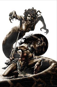 Wonder Woman. Artist © Lee Bermejo   Twitter