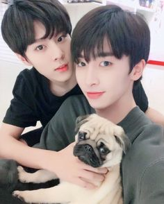 170109 UP10TION Xiao Fancafe Update - Healing Time @ Pet Café   #업텐션 #Wooshin #우신 #Xiao #샤오