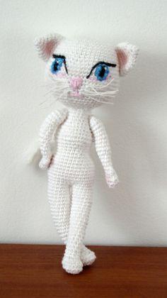 Talking Angela cat - ami free pattern