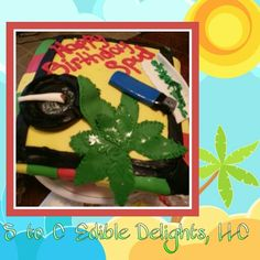 Rastafarian cake by S to C Edible Delights