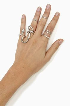 Coiled Snake Ring...pretty cool